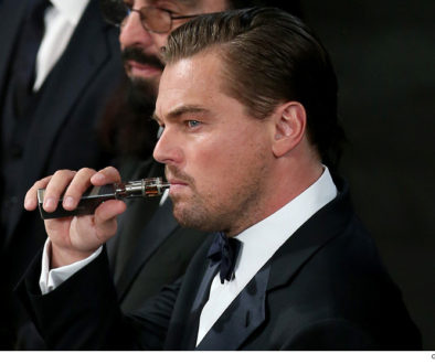 Leonardo DiCaprio Vaping At Odds With ALA